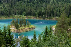 Der wunderschöne Caumasee